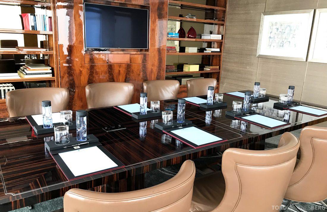 Ritz-Carlton Hong Kong Club Lounge møterom