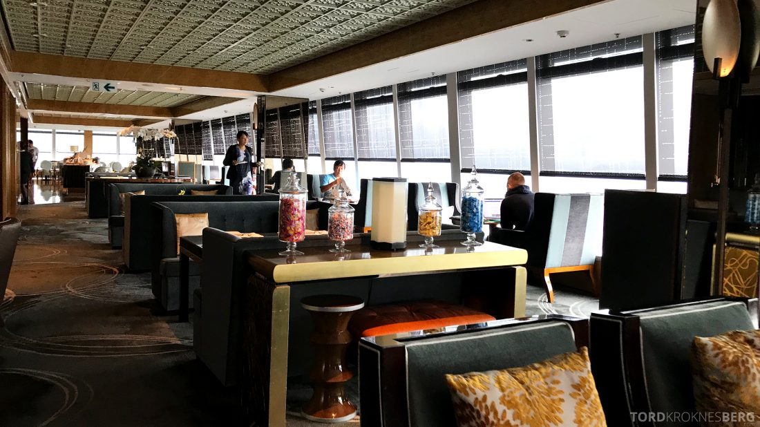 Ritz-Carlton Hong Kong Club Lounge lokale