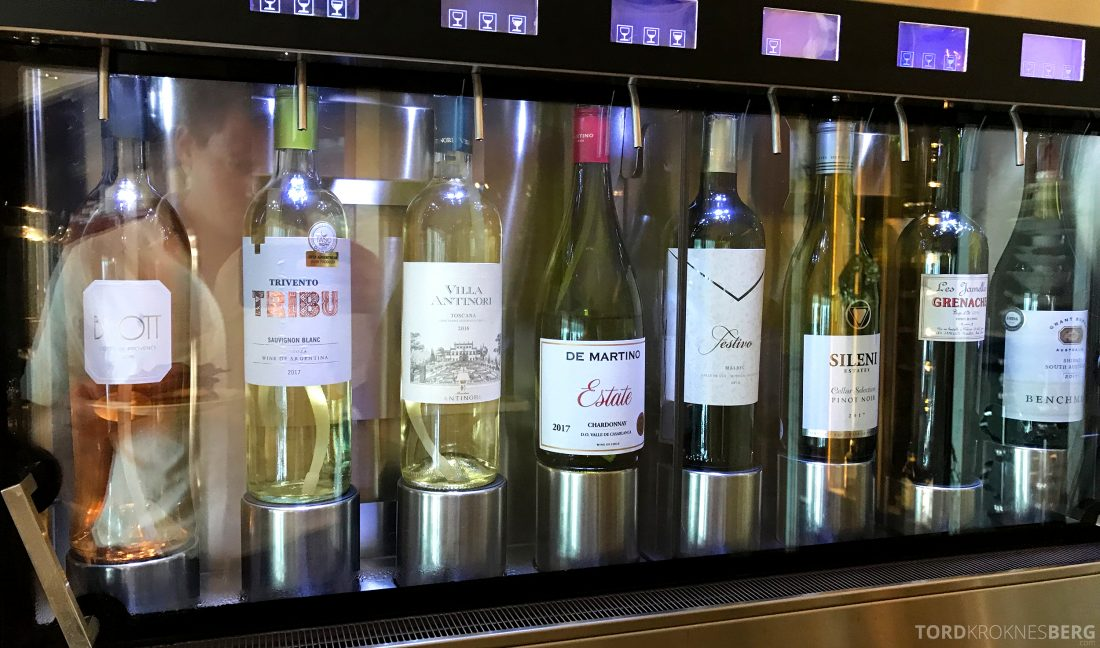 Ritz-Carlton Hong Kong Club Lounge vin