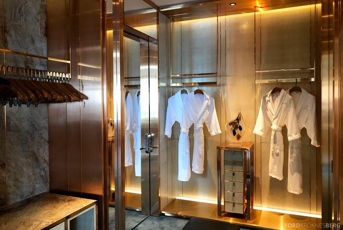 Ritz-Carlton Hong Kong Hotel presidentsuite garderobe