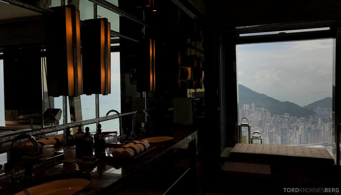 Ritz-Carlton Hong Kong Hotel presidentsuite bad