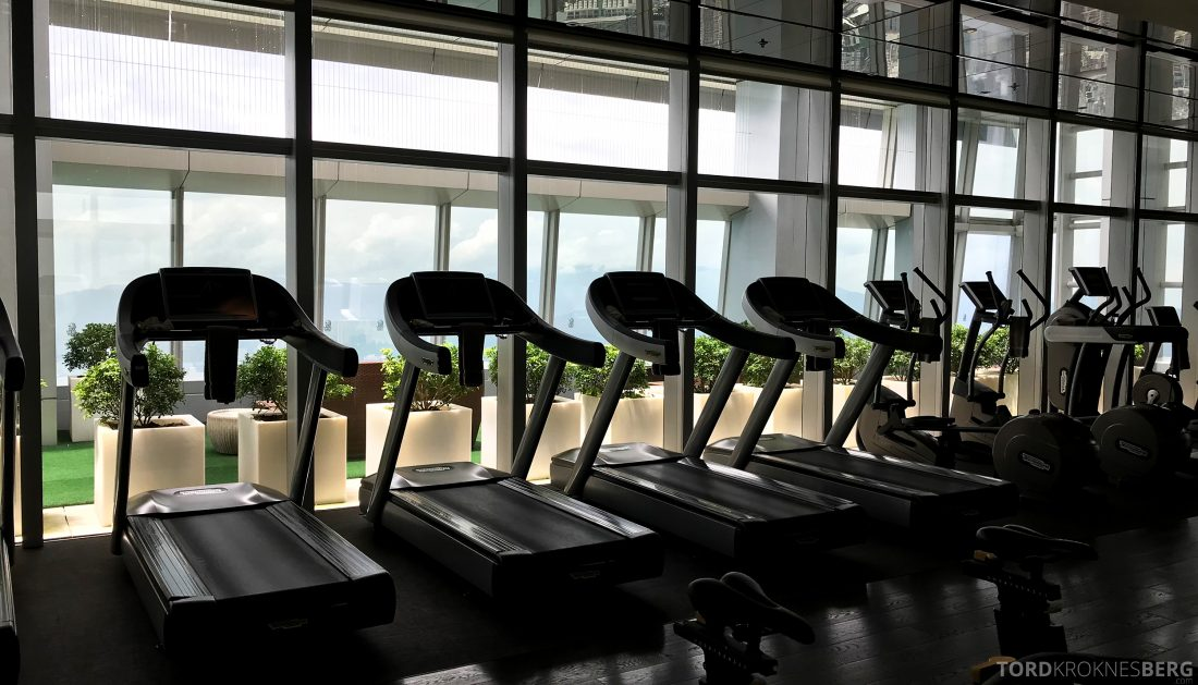 Ritz-Carlton Hong Kong Hotel gym