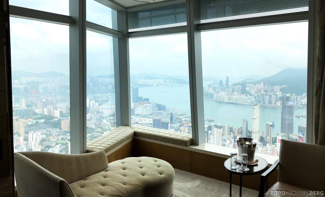 Ritz-Carlton Hong Kong Hotel utsikt