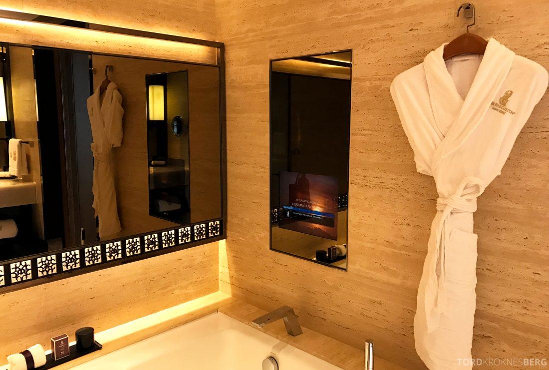 Ritz-Carlton Hong Kong Hotel badekar