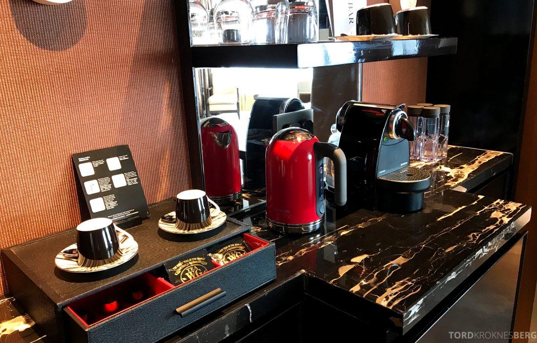 Ritz-Carlton Hong Kong Hotel kaffemaskin