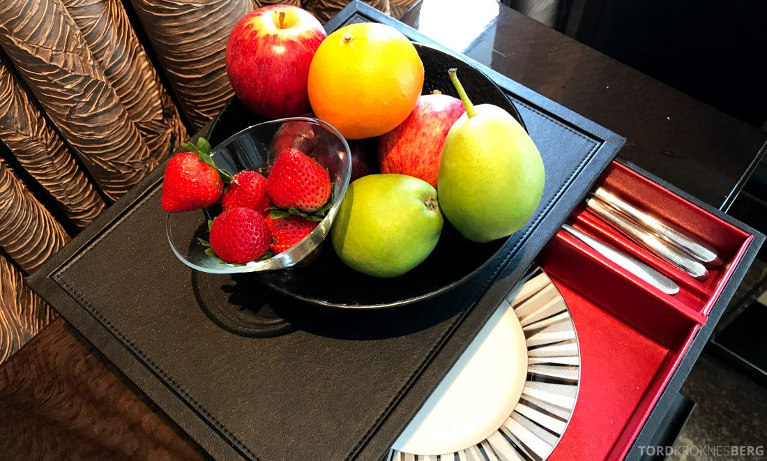 Ritz-Carlton Hong Kong Hotel fersk frukt