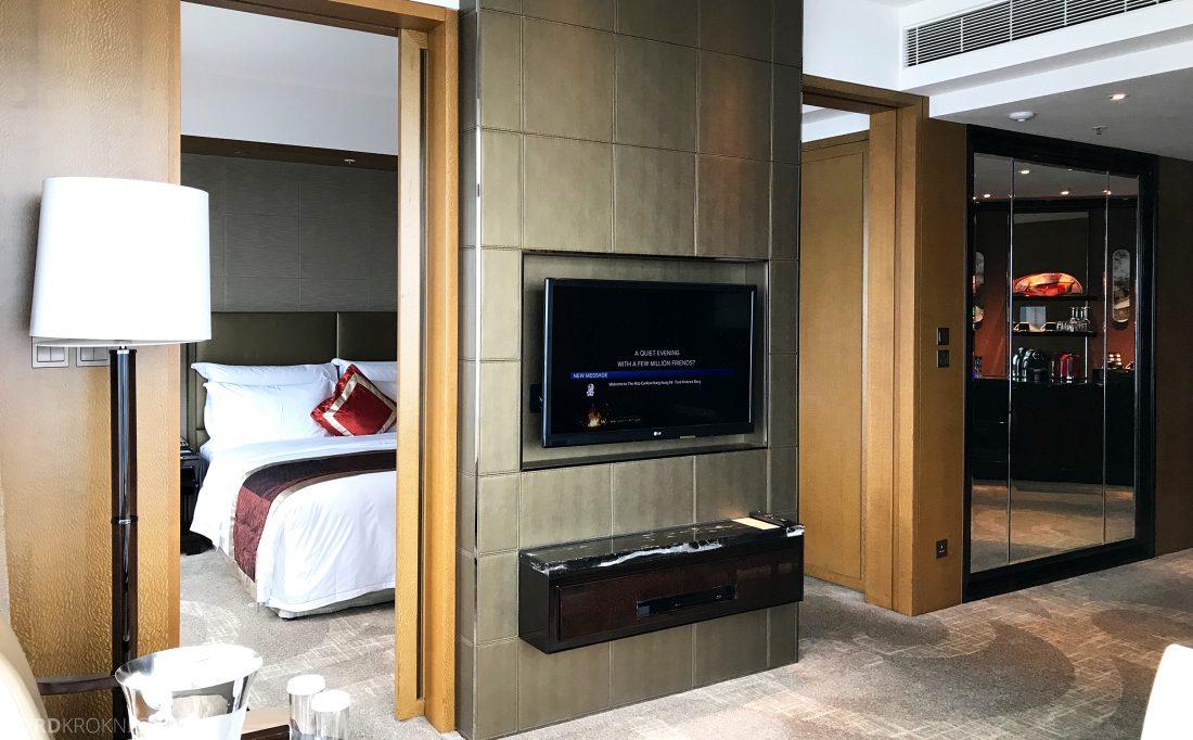 Ritz-Carlton Hong Kong Hotel suite oversikt