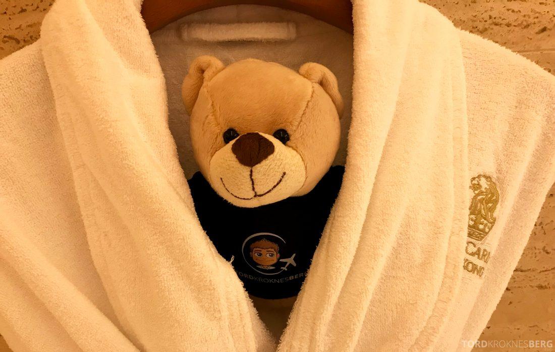 Ritz-Carlton Hong Kong Hotel reisefølget badekåpe