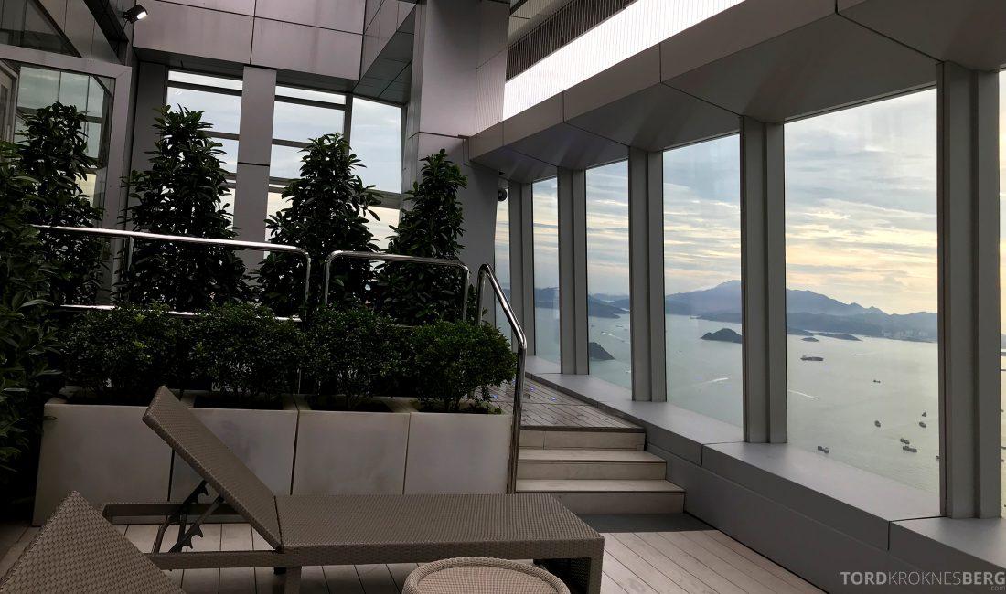 Ritz-Carlton Hong Kong Hotel utendørs solstoler