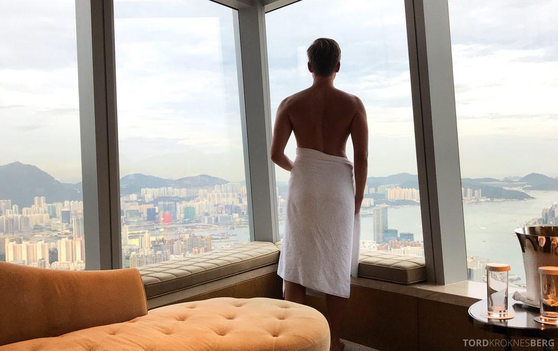 Ritz-Carlton Hong Kong Hotel Tord Kroknes Berg utsikt