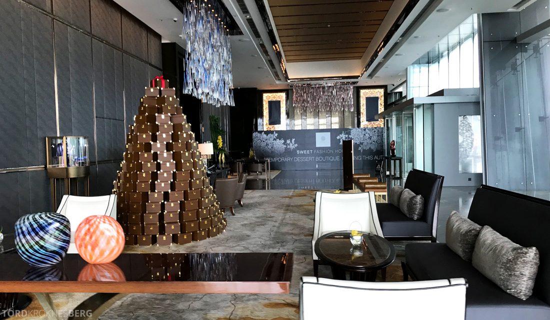 Ritz-Carlton Hong Kong Hotel velkomstlobby