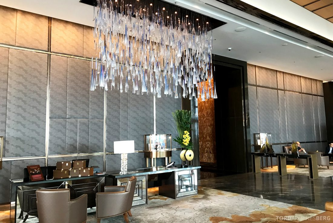Ritz-Carlton Hong Kong Hotel lobby