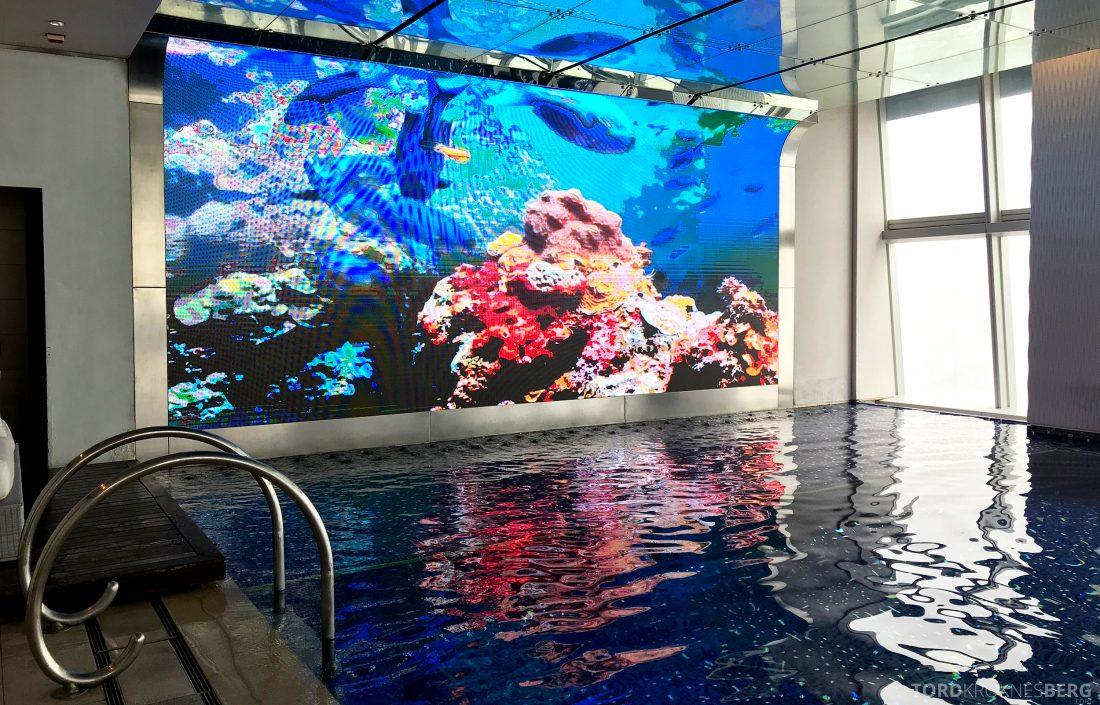 Ritz-Carlton Hong Kong Hotel basseng skjerm