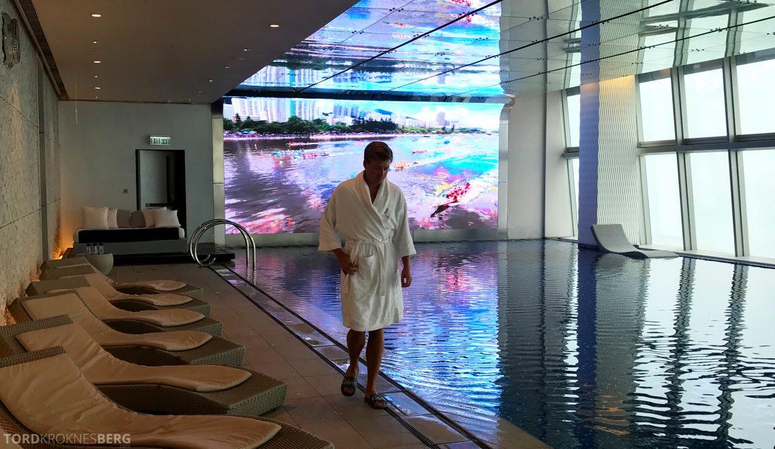 Ritz-Carlton Hong Kong Hotel Tord Kroknes Berg basseng