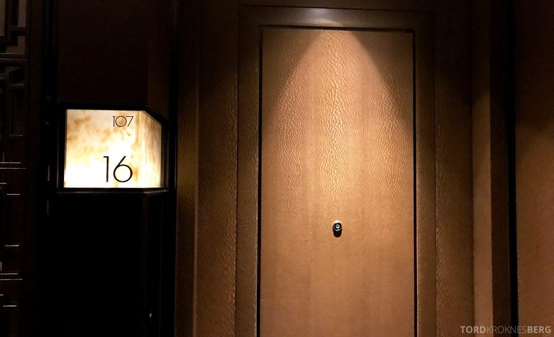 Ritz-Carlton Hong Kong Hotel inngang suite