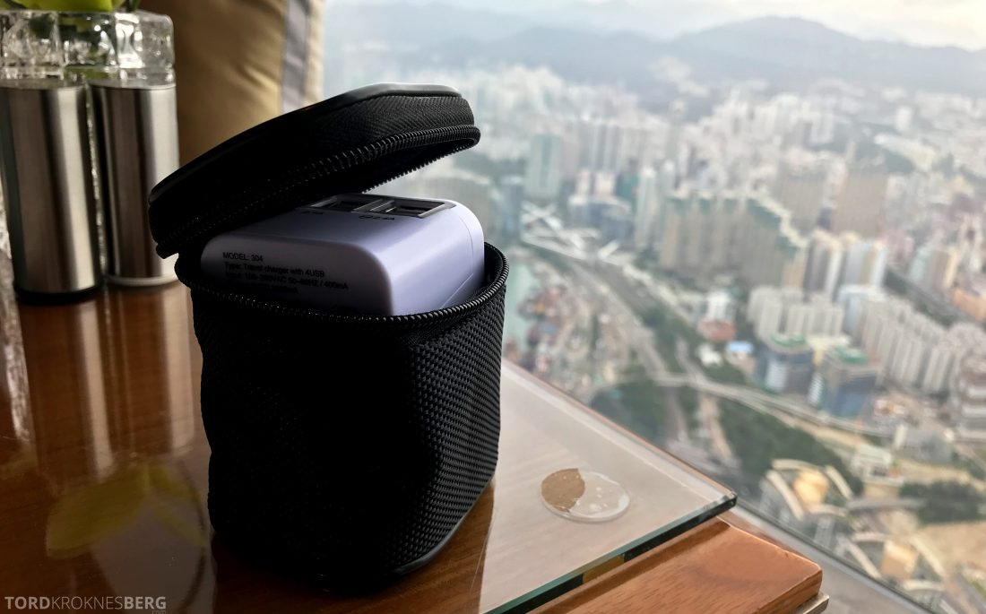 Ritz-Carlton Hong Kong Hotel velkomstgave adapter