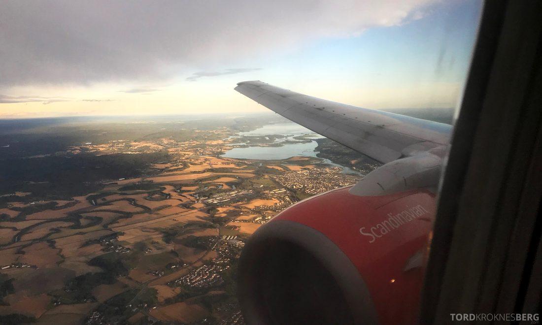 SAS Plus Berlin Oslo landing