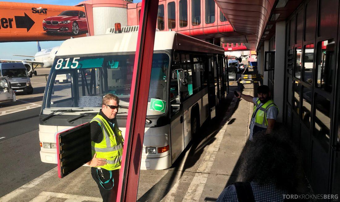SAS Plus Berlin Oslo buss
