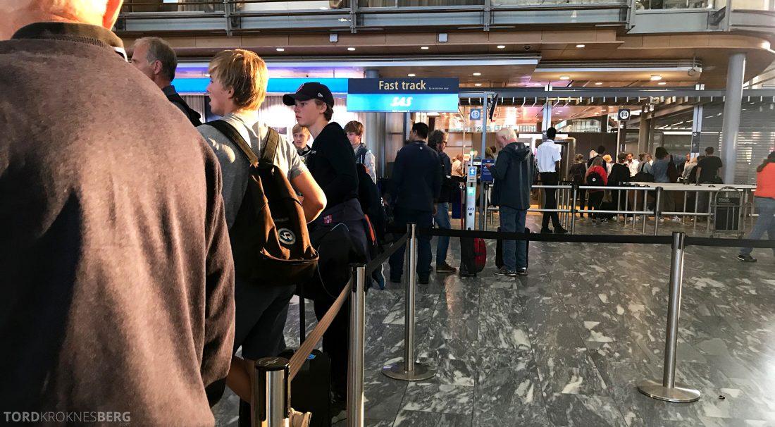 SAS Plus Oslo Berlin fast track