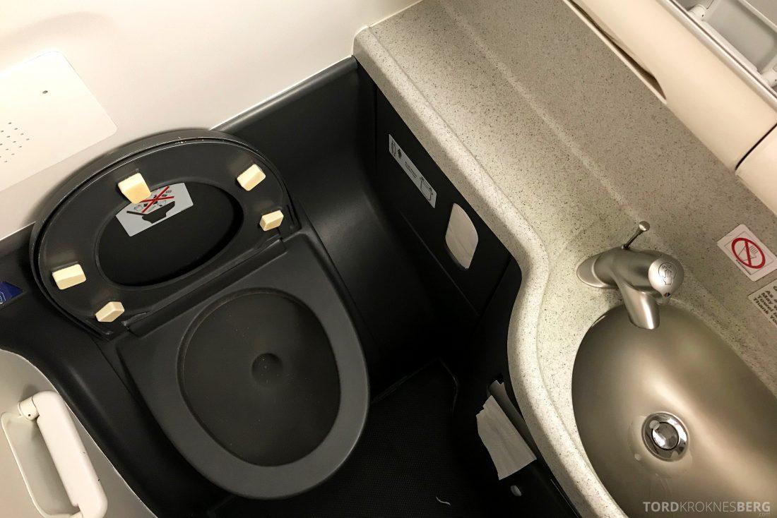 SAS Plus Oslo Berlin toalett