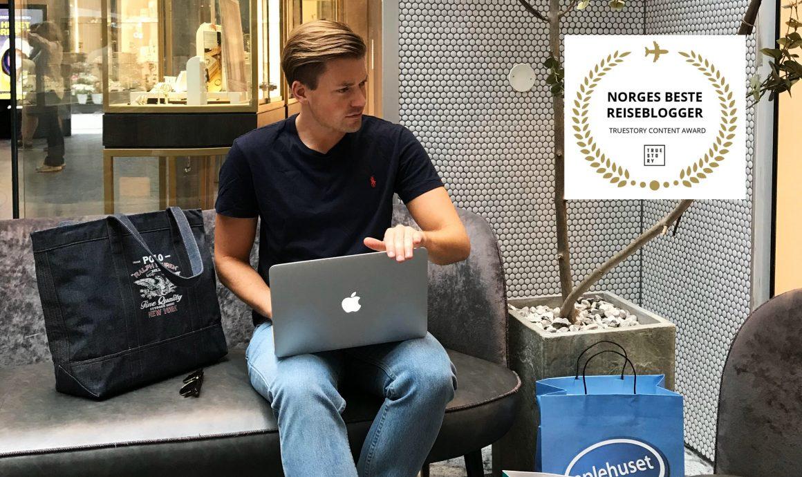 Tord Kroknes Berg Norges beste reiseblogger 2019