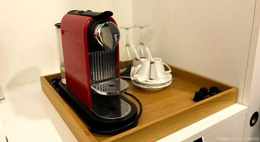 Radisson Blu Plaza Hotel Helsinki kaffemaskin