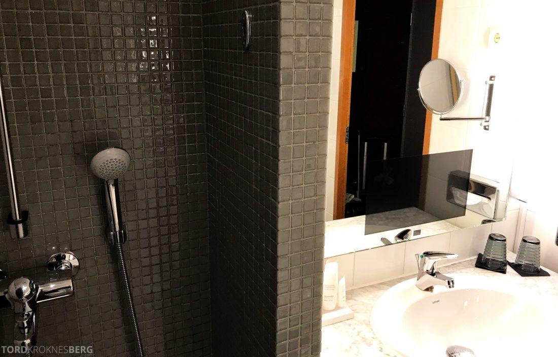 Radisson Blu Plaza Hotel Helsinki dusj