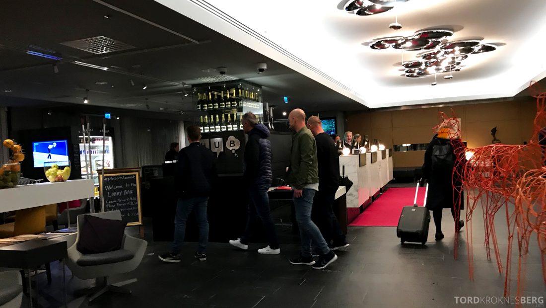 Radisson Blu Plaza Hotel Helsinki innsjekk