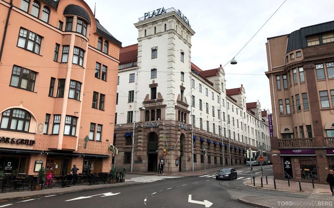 Radisson Blu Plaza Hotel Helsinki fasade
