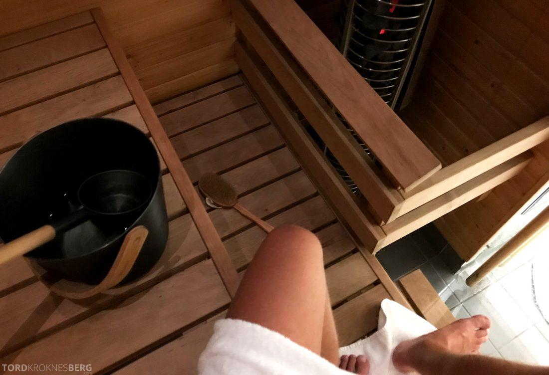 Radisson Blu Plaza Hotel Helsinki sauna