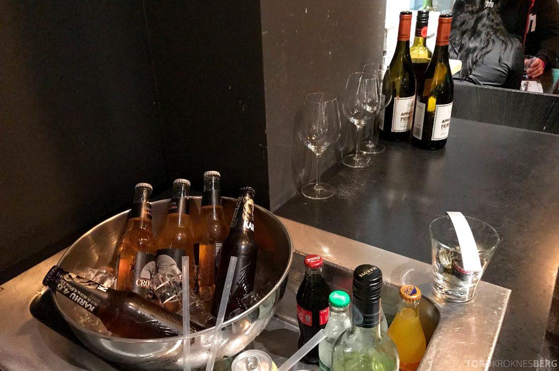 Radisson Blu Plaza Hotel Lounge Helsinki hors d'oeuvre vin og øl