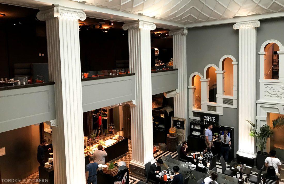 Radisson Blu Plaza Hotel Lounge Helsinki utsikt