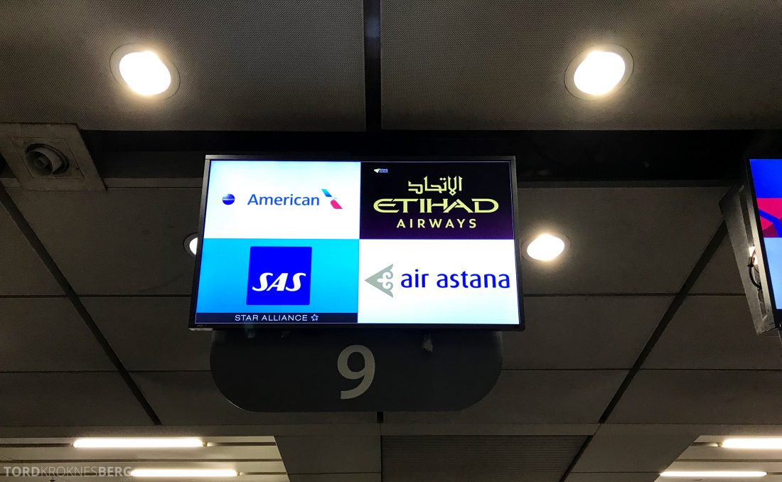 SAS Business Hong Kong Oslo SAS-skranke