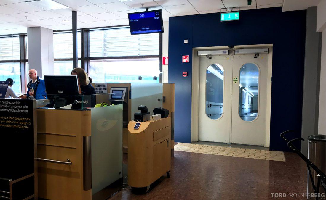 SAS Business Hong Kong mot Oslo