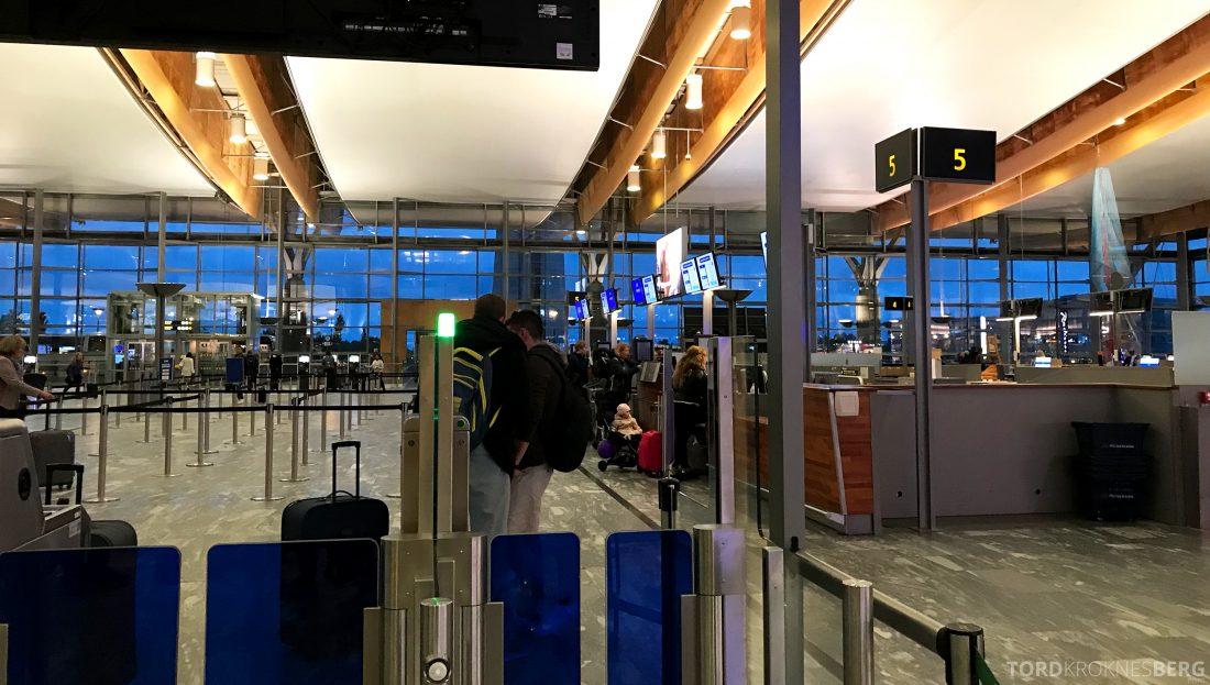 SAS Go Oslo Helsinki fast track