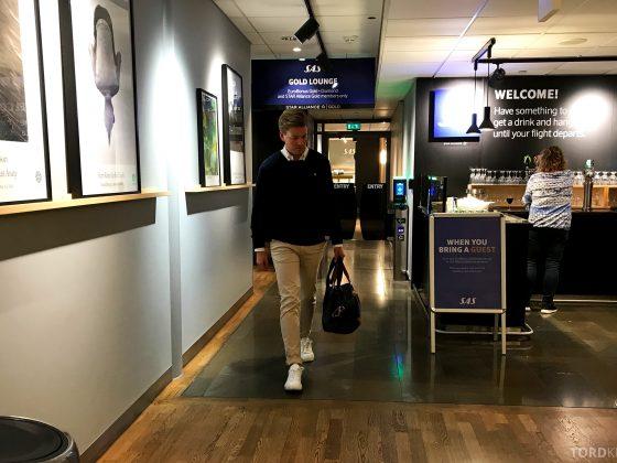 SAS Go Oslo Helsinki lounge Tord Kroknes Berg