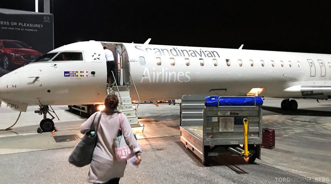 SAS Go Oslo Helsinki fly