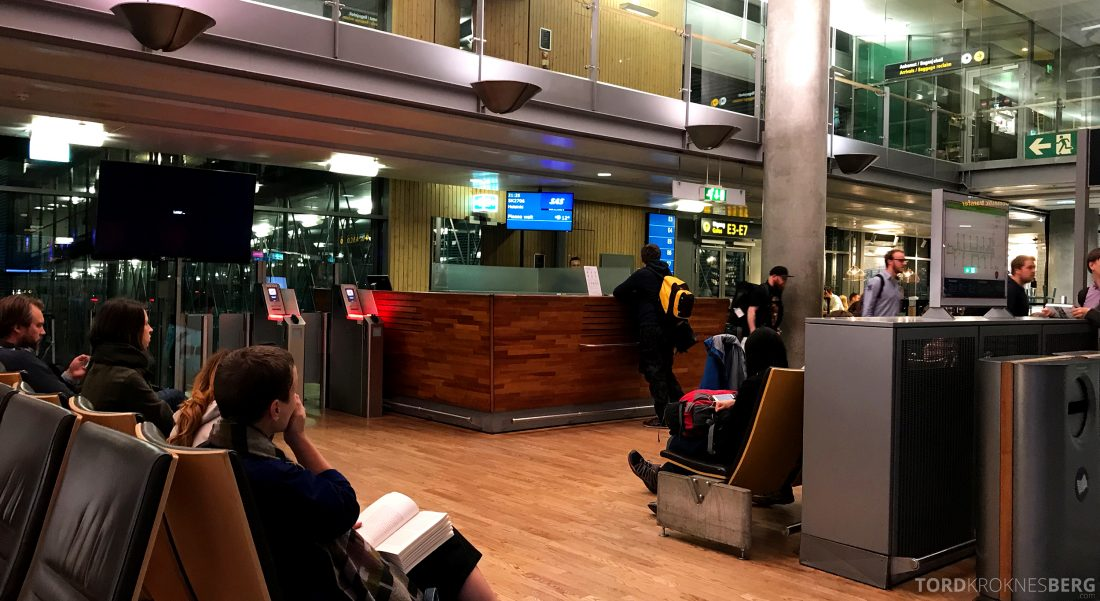 SAS Go Oslo Helsinki gate