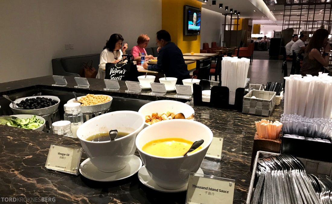 SilverKris Lounge Hong Kong buffet