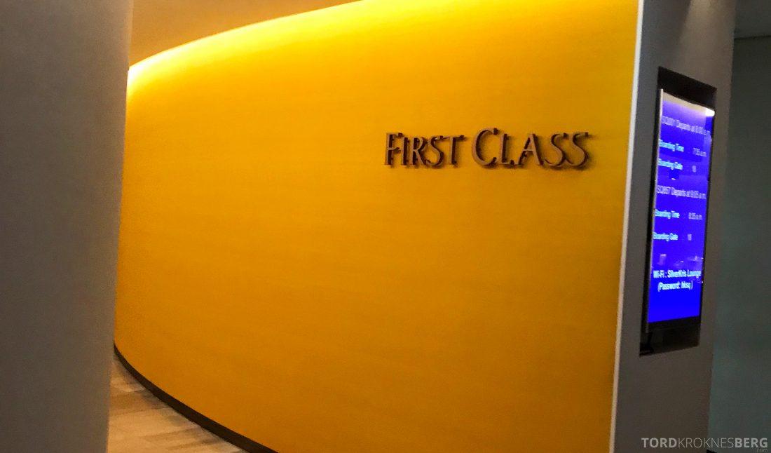 SilverKris Lounge Hong Kong First Class