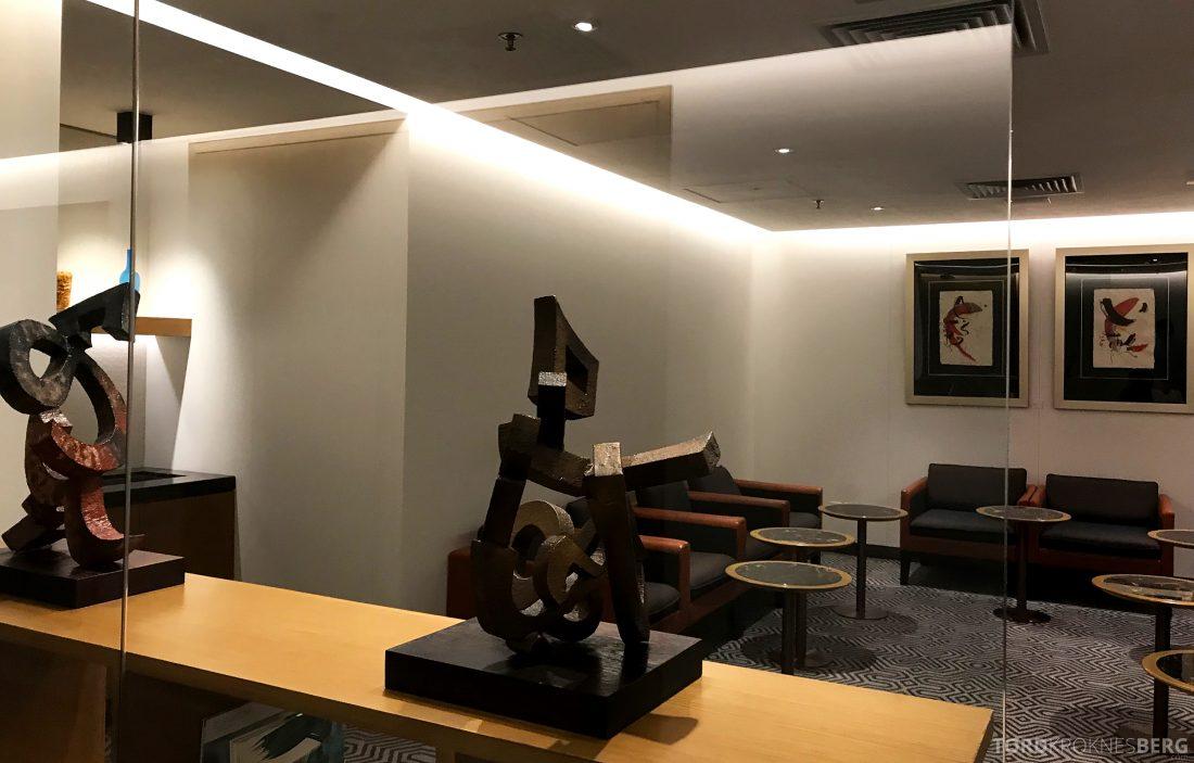 SilverKris Lounge Hong Kong kunst