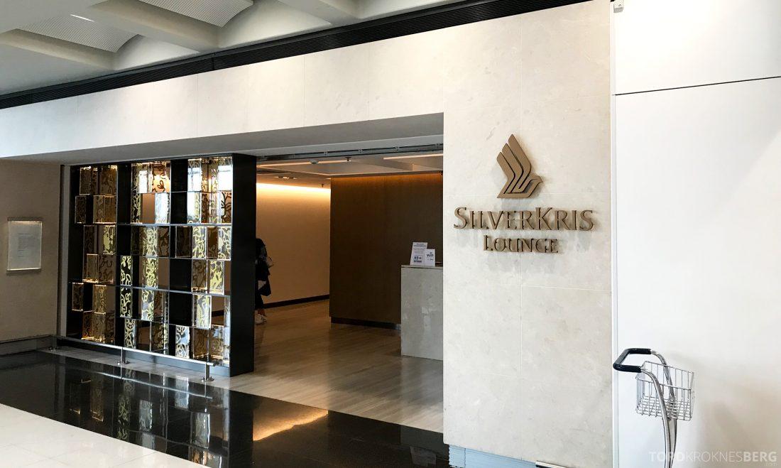 SilverKris Lounge Hong Kong inngang