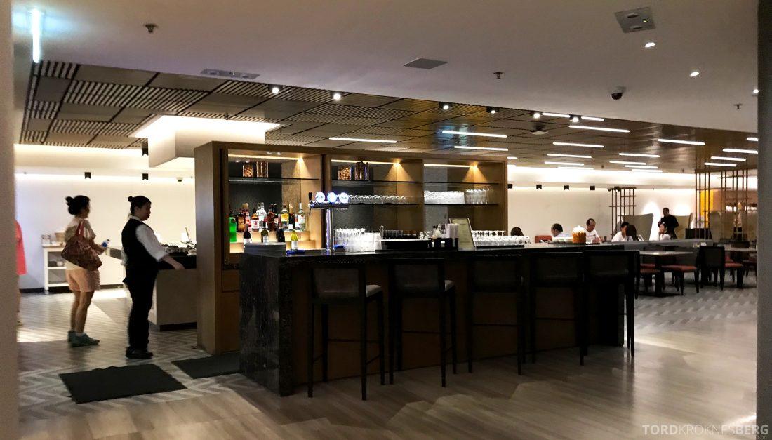 SilverKris Lounge Hong Kong bar