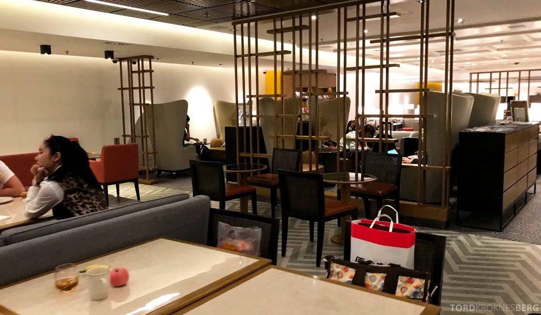 SilverKris Lounge Hong Kong sitteplasser