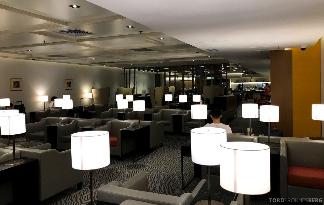SilverKris Lounge Hong Kong oversikt