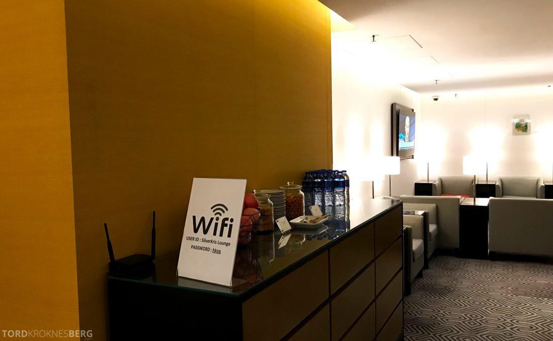 SilverKris Lounge Hong Kong Wi-Fi