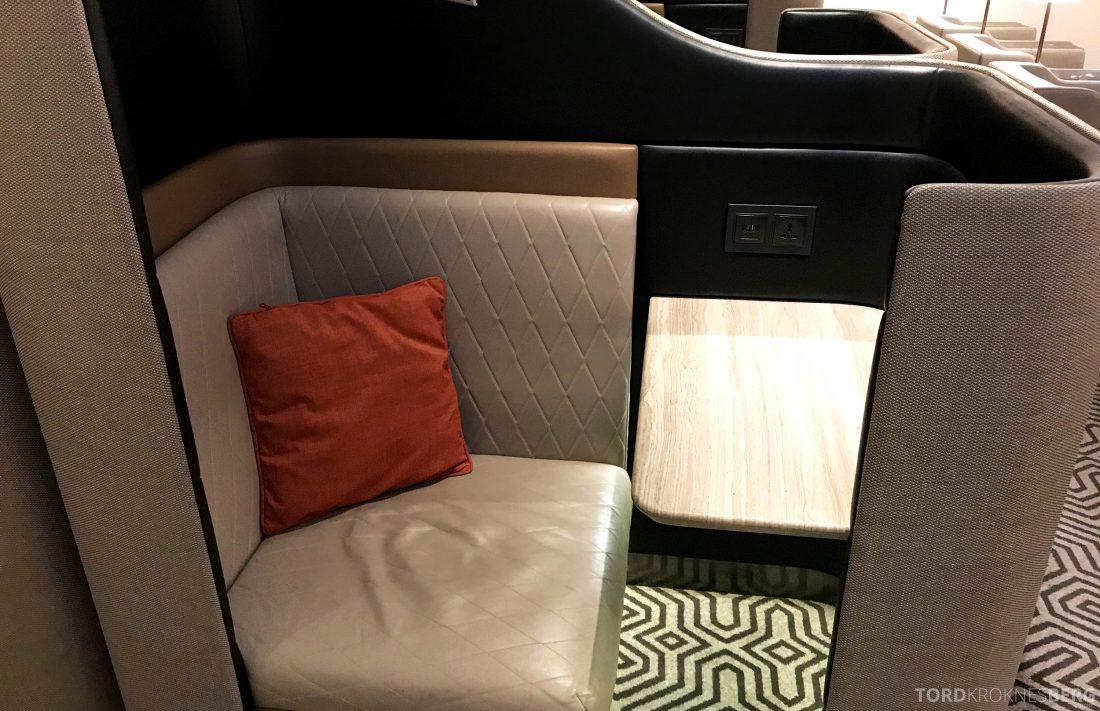 SilverKris Lounge Hong Kong privat sete