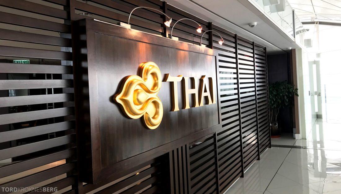 THAI Airways Royal Orchid Lounge Hong Kong logo