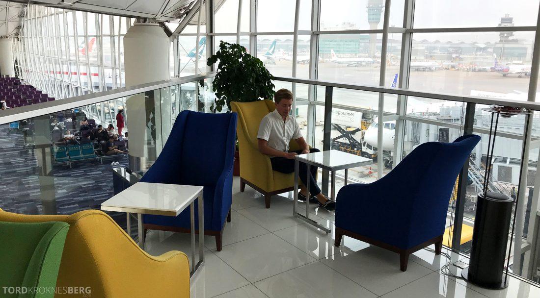 THAI Airways Royal Orchid Lounge Hong Kong Tord Kroknes Berg