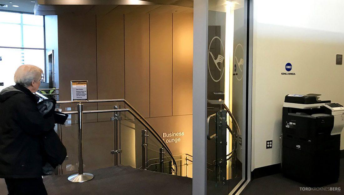Lufthansa Senator Lounge Washington Business Lounge